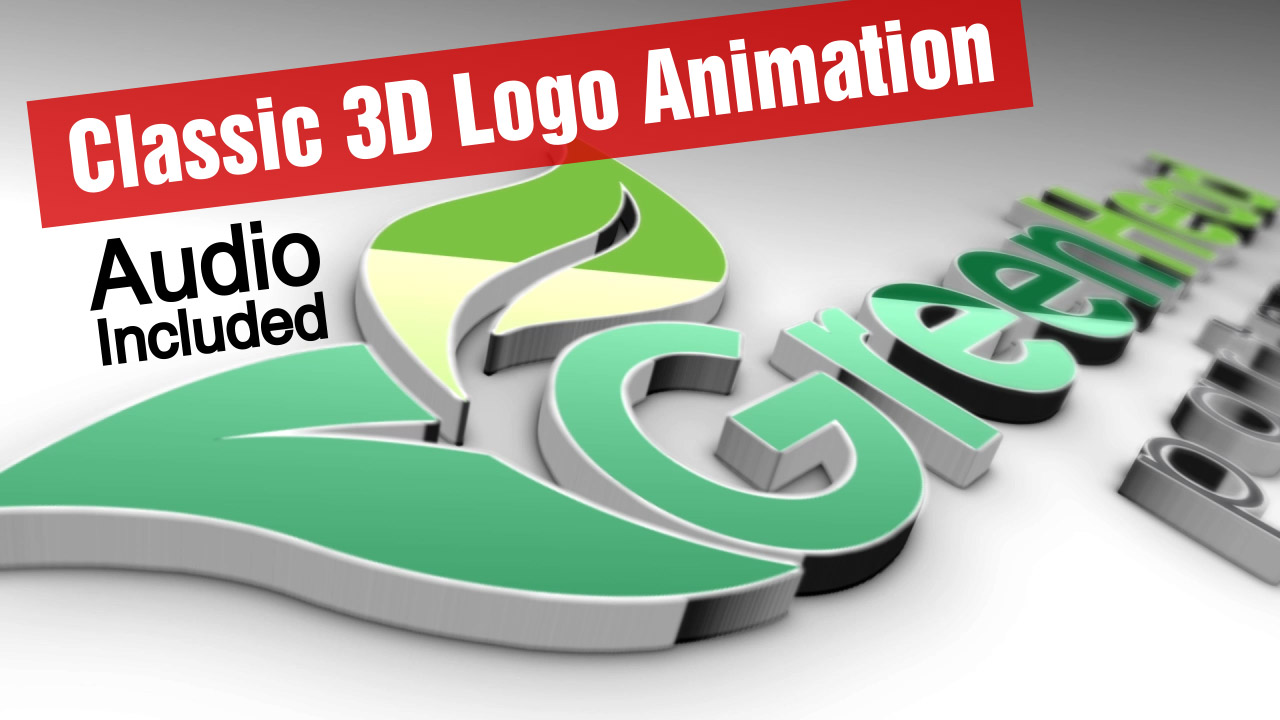 I will Make Classic 3D Logo Animation with your Logo