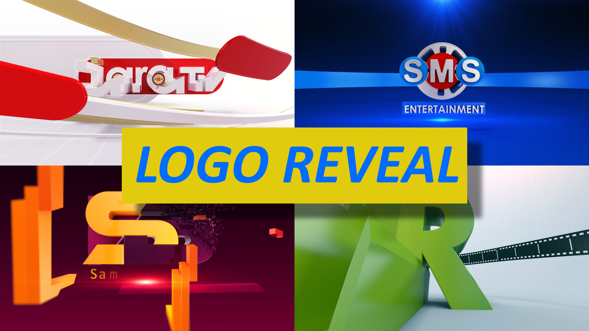 I will Make New Techniques 3D Logo Reveal